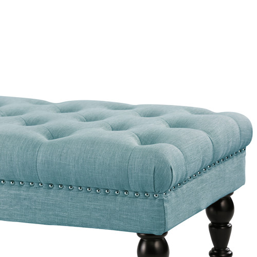 Hyde Park Home Teal Alice Dressing Bench