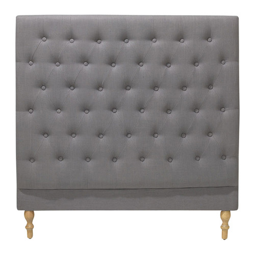 Hyde Park Home Grey Harper Chesterfield Bedhead