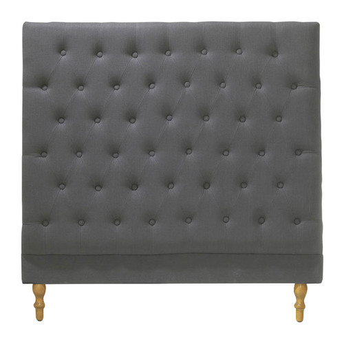 Hyde Park Home Charcoal Harper Chesterfield Bedhead
