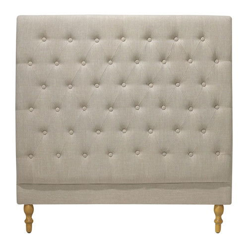 Hyde Park Home Taupe Harper Chesterfield Bedhead