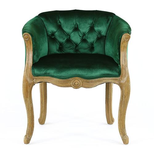 Hyde Park Home Emerald Eleanor Cabriole Chair