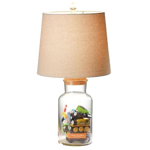 Hyde Park Home Ellis Fillable Jar Table Lamp