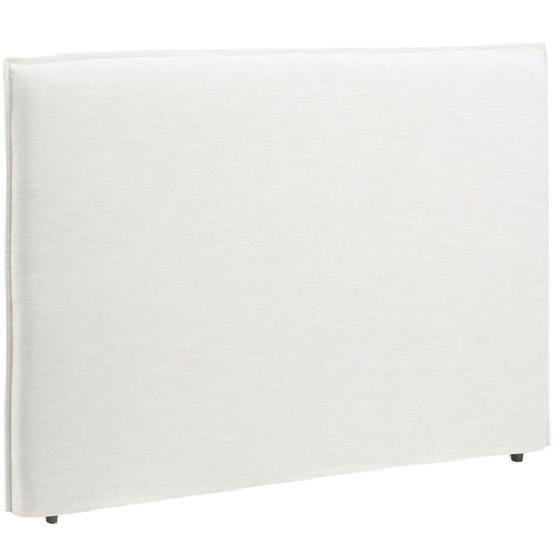 Hyde Park Home Linen Warm White Diablo Bedhead with Slipcover