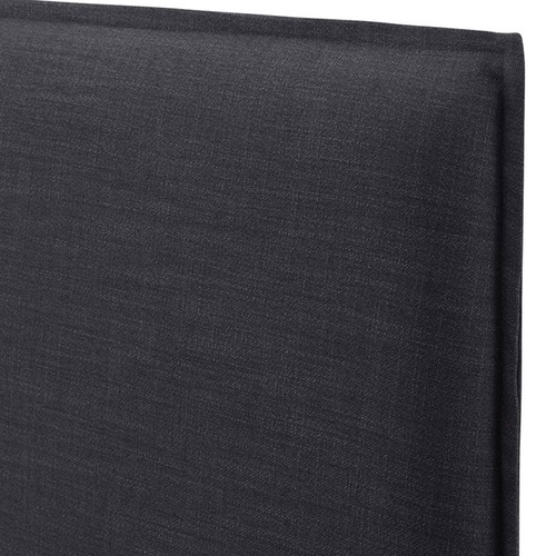 Hyde Park Home Charcoal Diablo Bedhead with Slipcover