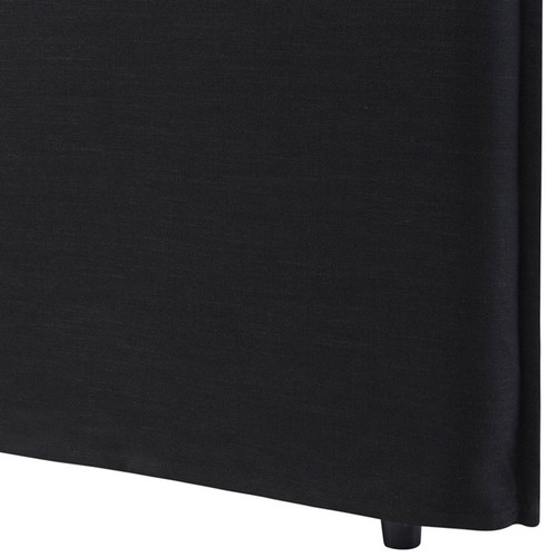 Hyde Park Home Black Diablo Bedhead with Slipcover