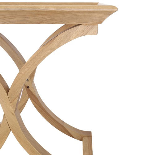 Hyde Park Home Maru Cross Legged Oak Side Table