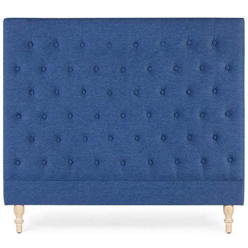 Hyde Park Home Navy Harper Upholstered Bedhead