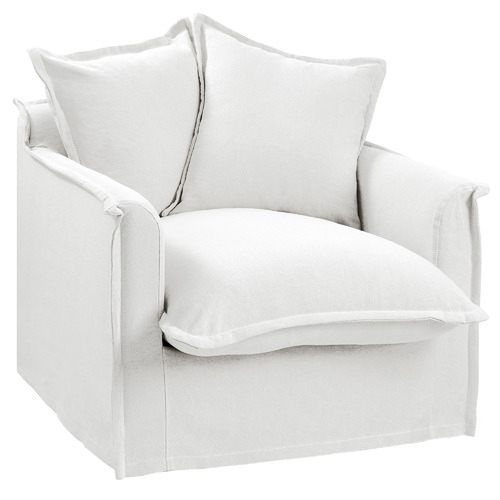 Cumulus Cotton Slipcover Armchair