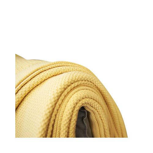 Flaxfield Linen Sala Lounge Sahara Knitted Lounge Throw