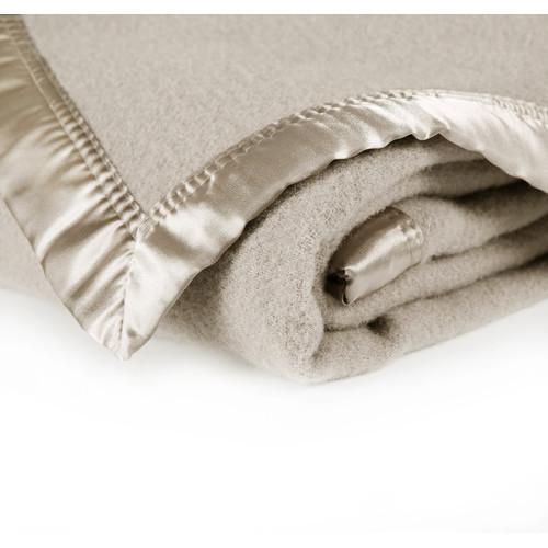 Wooltara Alpaca Wool Blanket Latte