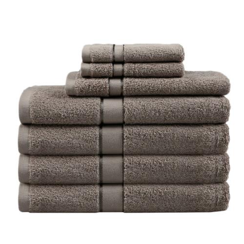 Dreamaker Latte 7 Piece Egyptian Cotton Towel Set