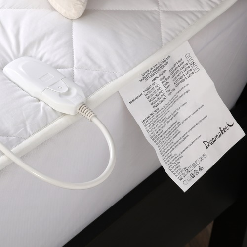 Dreamaker Diamond Quilted 120GSM Electric Blanket