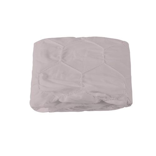 Dreamaker Pink Hexagon Microfibre Quilt Cover Set