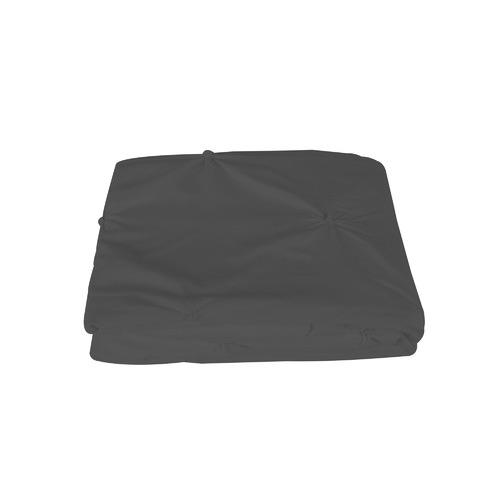 Dreamaker Charcoal Diamond Microfibre Quilt Cover Set