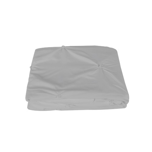 Dreamaker Slate Diamond Microfibre Quilt Cover Set
