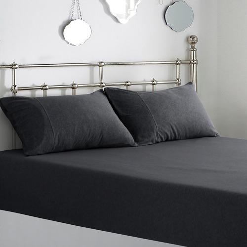 Dreamaker Jersey Cotton Standard Pillowcases