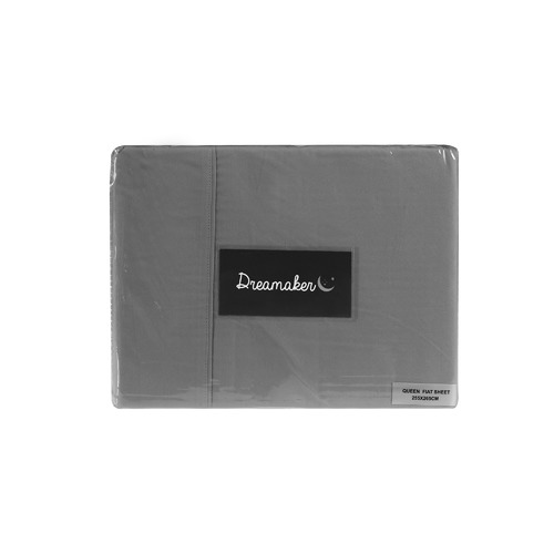 Dreamaker Plain Dyed Microfibre Flat Sheet