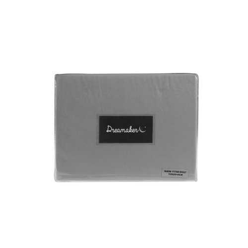 Dreamaker Plain Dyed Microfibre Fitted Sheet