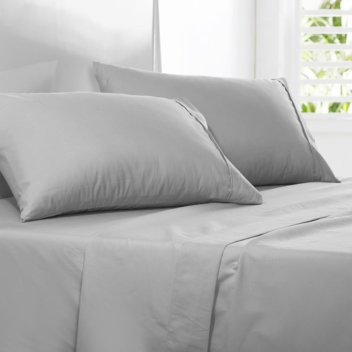 Dreamaker Plain Dyed Microfibre Standard Pillowcases