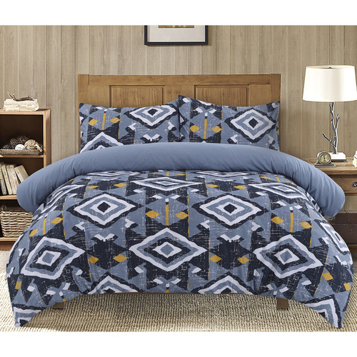 Dreamaker Damascus Printed Quilt Cover Set