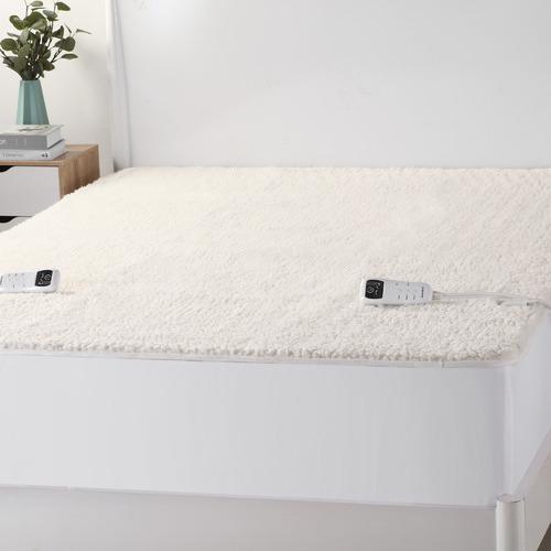 Multi-Zone Cotton Fleece Super King Electric Blanket