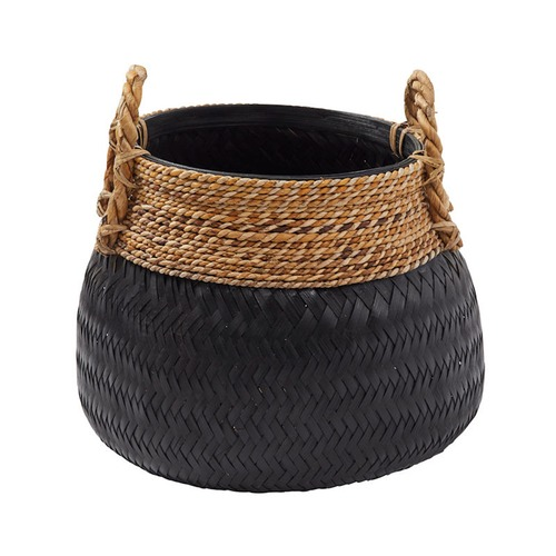 The Home Collective Rattan Basket Planter