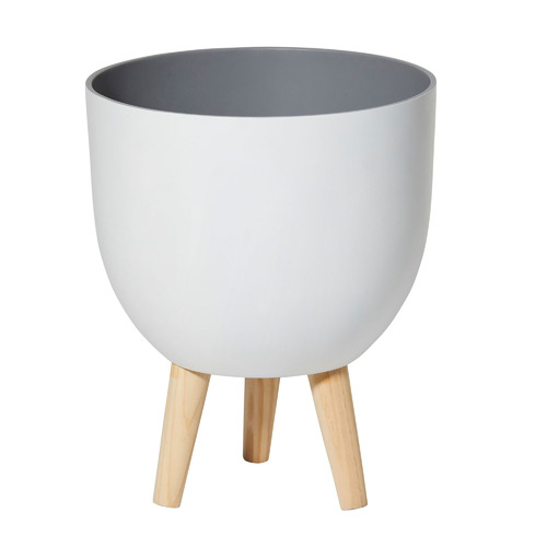 The Home Collective White Dylan Planter