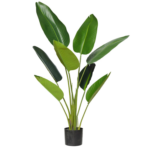 Giant Potted Faux Bird of Paradise Plants