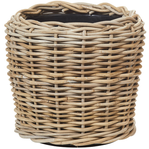 The Home Collective Natural Rattan Pots
