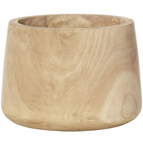 The Home Collective Natural Dansk Wooden Tub Pot