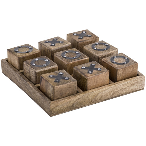 The Home Collective Nissa Wooden Noughts & Crosses