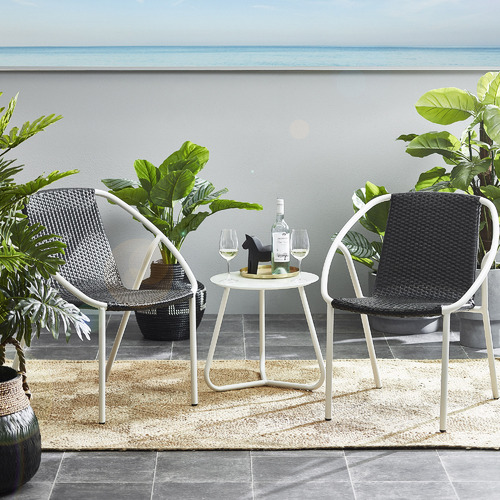 The Home Collective Rattan Basket Planter