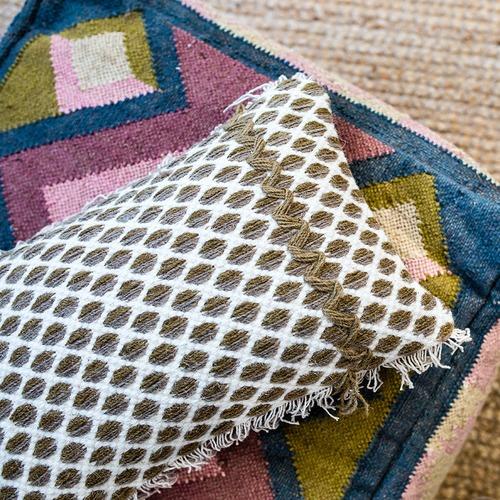 Canvas & Sasson Zimba Cotton & Wool Cushion