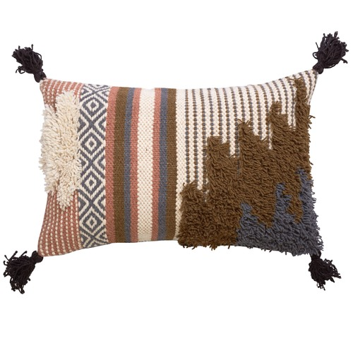 Canvas & Sasson Savanna Jute & Wool Cushion