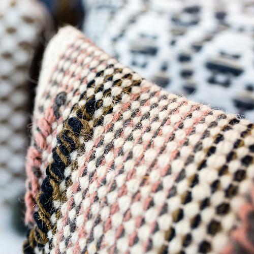 Canvas & Sasson Shanty Jute & Wool Cushion