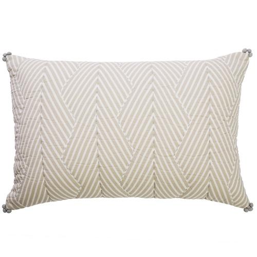 Canvas & Sasson Avignon Ripple Cotton Cushion