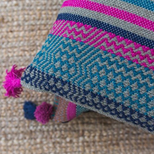 Canvas & Sasson Trove Esmeralda Cotton Cushion