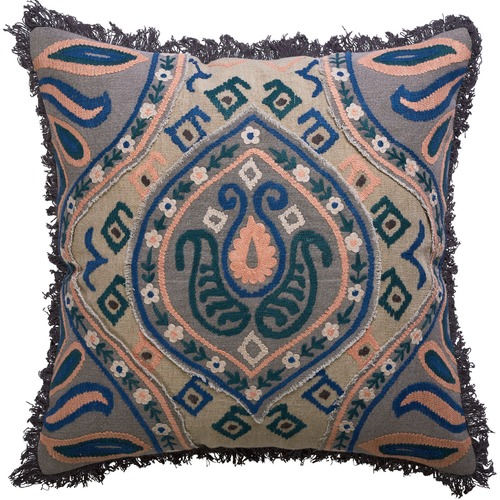 Canvas & Sasson Marais Madeline Cotton Cushion