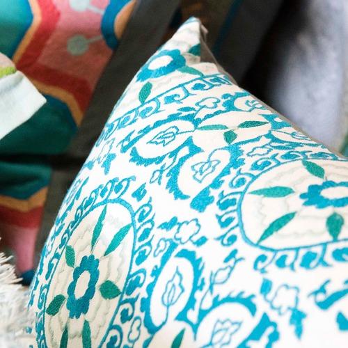 Canvas & Sasson Marbella Momu Cotton Cushion