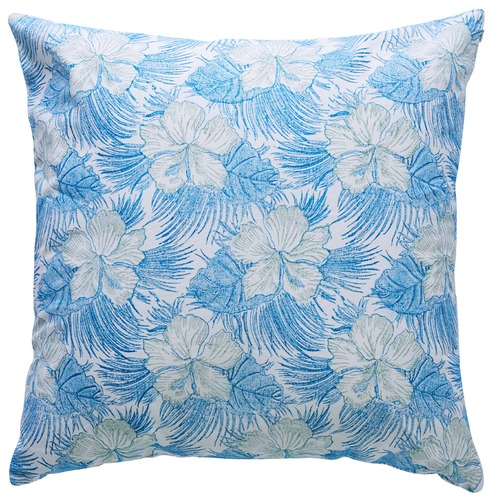 Canvas & Sasson Burleigh Hibiscus Cotton Cushion