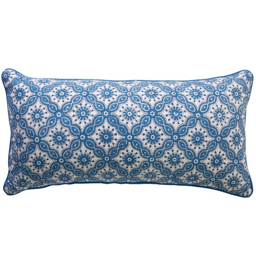 Canvas & Sasson Burleigh Rockpool Cotton Cushion