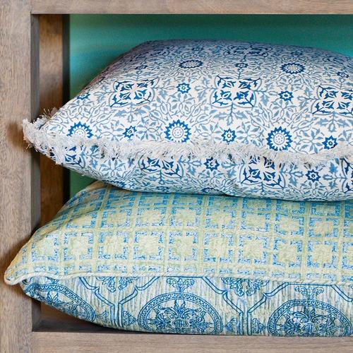 Canvas & Sasson Burleigh Wisteria Cotton Cushion