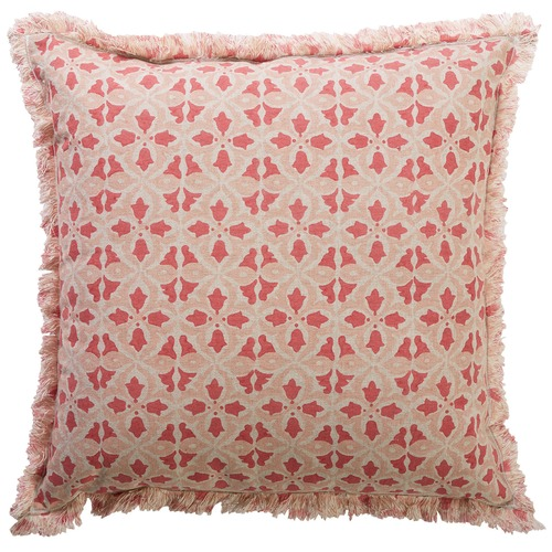 Canvas & Sasson Flora Crabapple Cotton Cushion