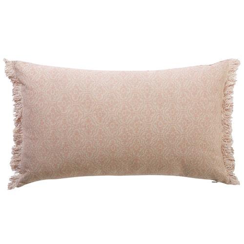 Canvas & Sasson Flora Mulberry Cotton Cushion