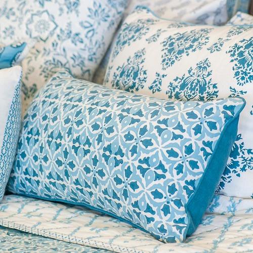 Canvas & Sasson Skye Crabapple Cotton Cushion