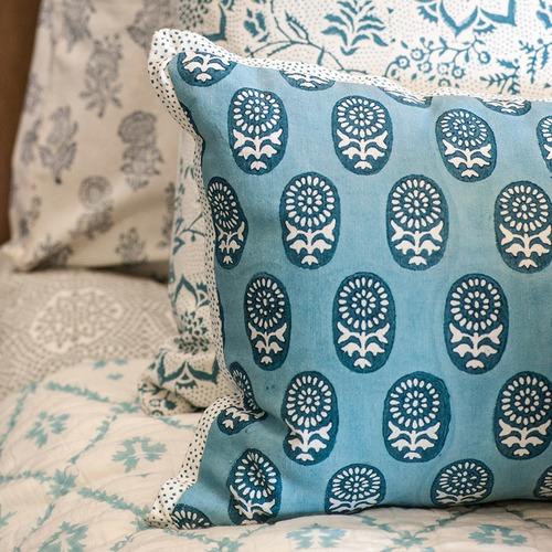 Canvas & Sasson Skye Moonshine Cotton Cushion