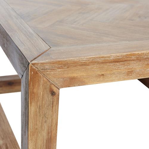 Canvas & Sasson Grove Oak Wood Side Table