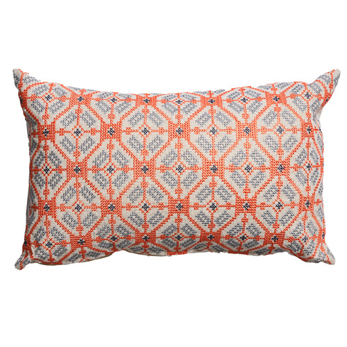 Canvas & Sasson Tangerine Palisades Illume Cushion