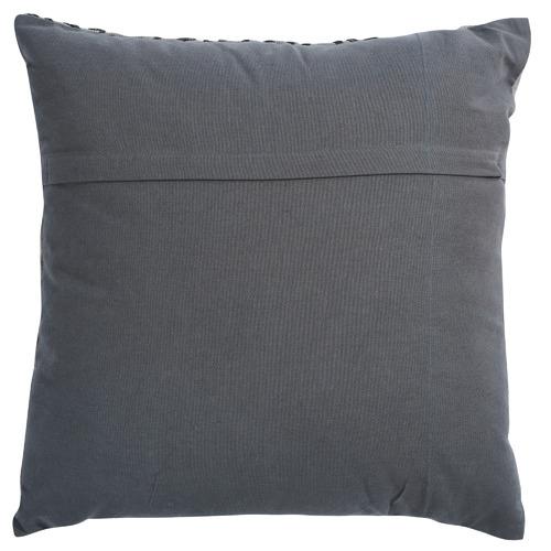Canvas & Sasson Grey Loom Barrow Cotton Cushion
