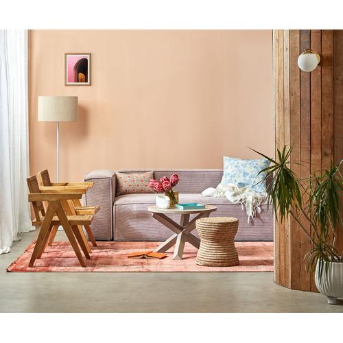 Canvas & Sasson Tangerine Palisades Illume Cushion
